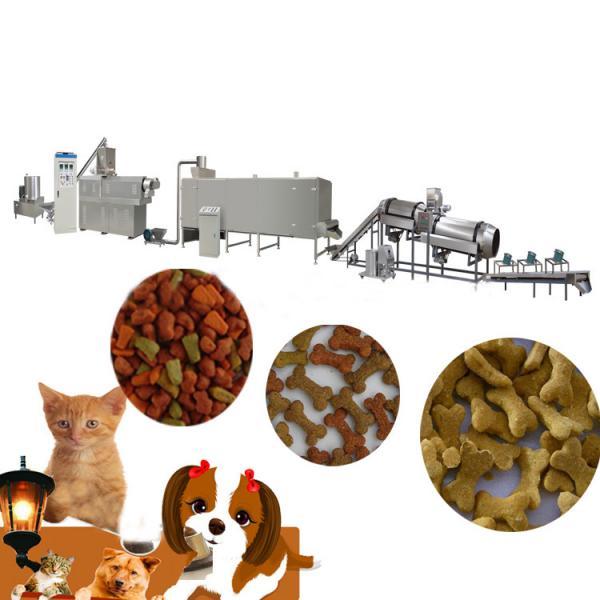 dry animal pet dog food pellet making processing extruder machine pet food production line price #3 image