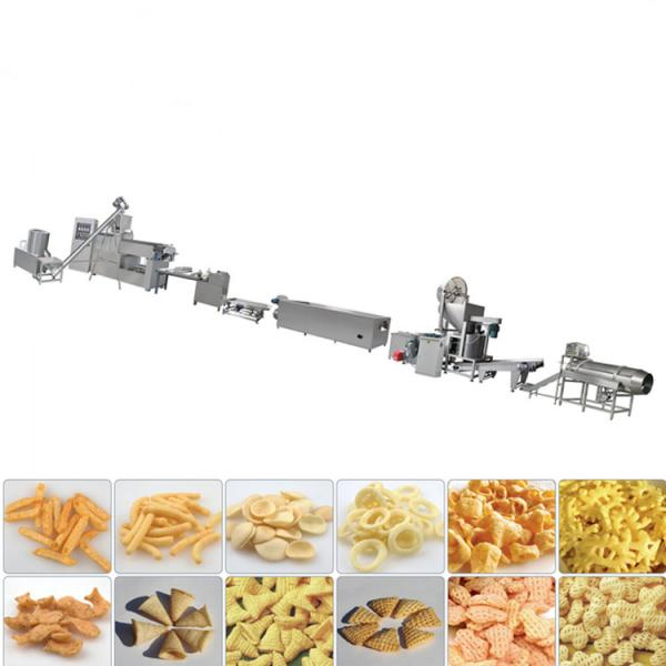 Manufacturing plant automatic factory puffed sticky rice cracker production line #3 image