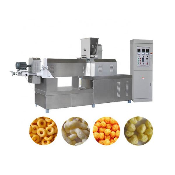 Manufacturing plant automatic factory puffed sticky rice cracker production line #1 image